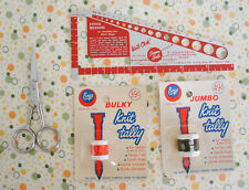 Vintage Knitting Notions Knit Chek Gauge Knit Tally Counters Embroidery Scissors