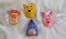 Walt Disney WINNIE THE POOH Kellogg Toy RARE SET Piglet BOOKMARKS STICKERS 2003