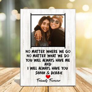 Personalised Best Friend Gift, Moving Best Friend, Friends, Friendship Plaque