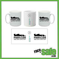 Lewis Hamilton / F1 WORLD CHAMPION style Mug / Mercedes F1 / Motorsport