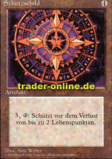 Schutzschild (Conservator) Magic limited black bordered german beta fbb foreign
