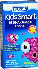 Bioglan Kids Smart DHA - Omega 3 Berry Flavor Bursts 30 ct
