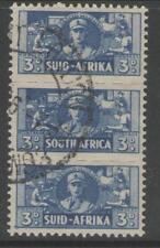 SUD AFRICA sg101 1942 3d BLU FINE USATO