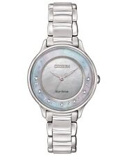 Citizen Eco Drive Diamond Set Ladies Watch Em0380-65d