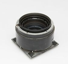 "Kodak Aero-Ektar 13-1/2"" Inch F/3.5 (343mm) on 6.25x6.25"" board"