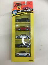 1995 Matchbox 5 Pack - CONVERTIBLES Mustang, Corvette, Mitsubishi 20 YEARS OLD!