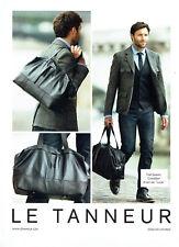 Publicité Advertising 078  2012  le Tanneur sac besace Lucas & Fred Jaspart