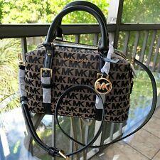 Michael Kors Women Leather Crossbody Satchel Bag Handbag Purse Tote Shoulder MK