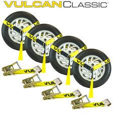 Tire Harness Kit with Flat Hook Ratchets Tow Truck Wrecker Car Hauler
