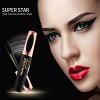 4D Silk Fiber Eyelash Mascara Extension Makeup Black Eye Lashes Waterproof Newly