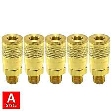A Style Quick Coupler Air Hose Connector Fittings 1/4 NPT Tools Plug Compressor