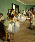 The Dance Class Ballerinas Ballet 1874 Painting By Edgar Degas Repro FREE S/H