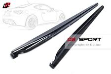 Subaru BRZ,Scion FR-S,Toyota 86 (GT86) Carbon Fiber Side Skirt Extensions