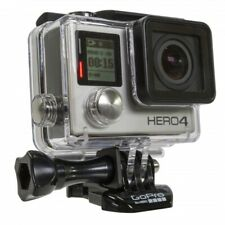 GOPRO HERO 4 BLACK 4k HD Action Camera GPS WiFi Video Photo Camcorder 12MP rfrb