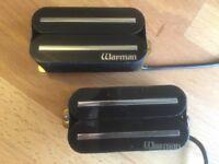 Warman Warblades. High output rail humbuckers