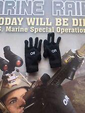 Soldier Story MARINE RAIDERS U.S. MSOT 8222 OR Black Gloves loose 1/6th scale