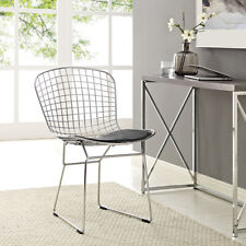 CAD Dining Side Chair, White - MID CENTURY CHAIR  FREE SHIPPING USA