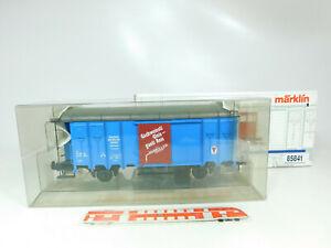 BR117-2 # Märklin Échelle 1 / AC 85841 Wagons Max Müller Construction de la