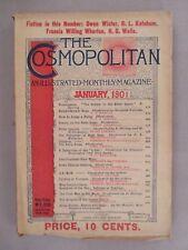 Cosmopolitan Magazine - January, 1901 ~Maxfield Parrish Knickerbocker 9 illo's