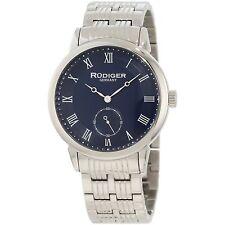 German Rudiger Fashion New Mens Stainless Steel Watches Retro Analog Wrist Watch