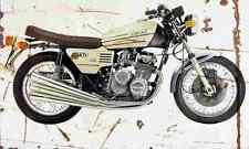 Benelli 750Sei 1976 Aged Vintage Photo Print A4 Retro poster