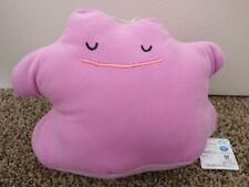 "Pokemon Ditto Sleeping Japanese Plush 11"" Shoppro CraneKing Toreba New w/ Tags"