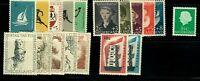 Netherlands 1956 Year Set (18 stamps) - MNH