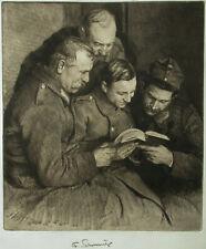 Ferdinand Schmutzer ( 1870-1928) Soldaten