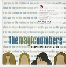 (EB720) The Magic Numbers, Love Me Like You - 2005 DJ CD