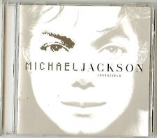 "Michael Jackson     ""Invincible""    (Silver Cover)  Rare 2001 N/New CD"