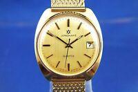 Gents NOS Vintage Retro Junghans Astro Quartz Watch 1970s Swiss Cal 667.20