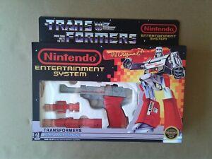 Transformers G1 Nintendo NES Megatron Custom 100% complete in Box!!!