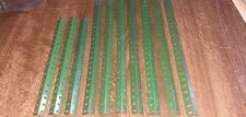 10 x POST WAR MEDIUM GREEN MECCANO ANGLE GIRDER #8(x7) & #8a(X3) VGC