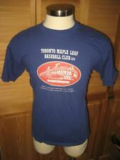 Toronto Maple Leaf Baseball Blue T Shirt L Mint