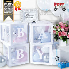 Baby Shower Decorations and Gender Reveal Party Supplies (52 Piece Premium Kit)