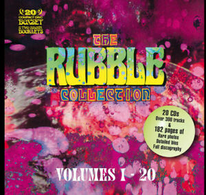 THE RUBBLE COLLECTION VOLS:1-20 Various Artists 20cd Boxset New/Sealed