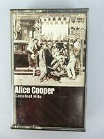 Vintage Alice Cooper Greatest Hits Cassette Tape Hard Rock Heavy Metal