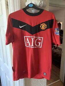 Manchester United 2008/09 Football Shirt (Medium Mens) - Rooney 10