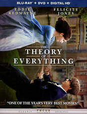 The Theory of Everything (Blu-ray + DVD) w/ Slipcover! -Story of Stephen Hawking