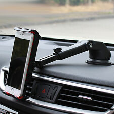 Long Arm Rod Car Windshield Phone Holder Cradle Mount for iPhone 6 6S 7 Plus LG