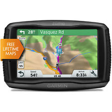 Garmin Zumo 595LM Motorcycle Europe 45 Lifetime Map Updates GPS Sat Nav