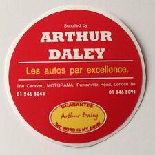 Arthur Daley Motorama REPLICA Adesivo Holden RENAULT CITROEN FIAT SEAT