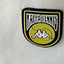 Kappa Tennis Men's White Medium Long Sleeve 1/4 Zip Comfort Vented Shirt