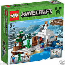 BRAND NEW ***Lego Minecraft 21120 The Snow Hideout - CHRISTMAS PRESENT