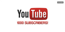 Youtube Subs (1K) 100% Genuine Service
