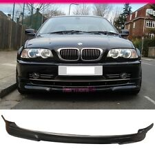 Fit For 99-03 BMW E46 3-Series 2Dr Coupe PU Front Bumper Lip Spoiler Body Kit