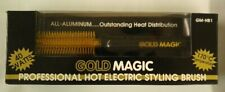 Gold Magic Professional Hot Electric Styling Brush Iron GM-HB1