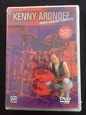 Kenny Aronoff Power Workout Complete Drum DVD NEW!