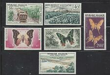 MADAGASCAR (MALAGASY) - C61 - C66 - MH - 1960 - MADAGASCAR VIEWS & BUTTERFLIES