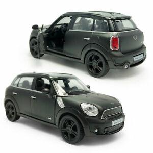 1:36 Mini Cooper S Countryman Model Car Diecast Toy Pull Back Black Kids Gift